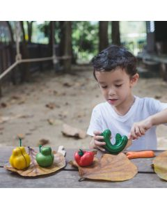 PLAN Toys Wooden Wonky Fruit & Vegetables