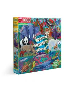 Eeboo 1000 Piece Puzzle - Planet Earth