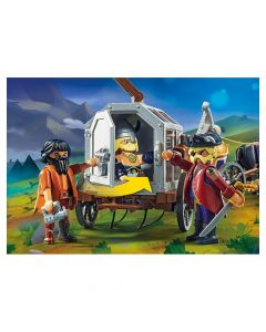 Playmobil 70073 - The Movie Charlie with Prison - save 40%