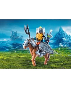 Playmobil Knights Dwarf Fighter with Pony - save 25%