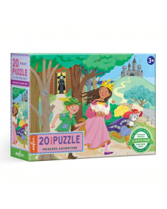 Eeboo Princess Adventure 20 piece puzzle
