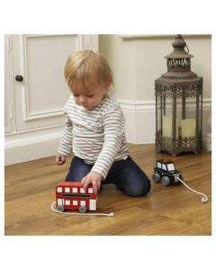 Pull Along London Bus by Orange Tree Toys