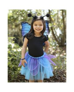 Great Pretenders - Midnight Butterfly Tutu with Wings and Headband
