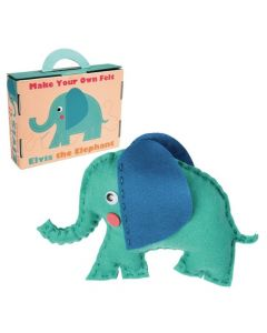 Rex London Make Your Own Felt Elvis the Elephant Kit