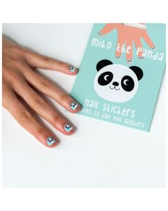 Rex London Miko the Panda Nail Stickers 28338