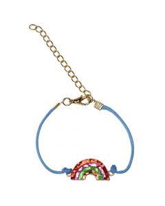 Rex London Rainbow Glitter Bracelet