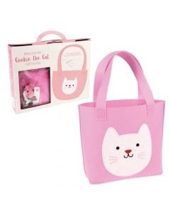 Rex London Sew Your Own Cookie The Cat Tote Bag