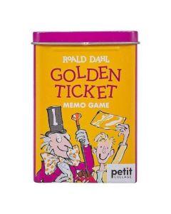Roald Dahl Golden Ticket Memory Game