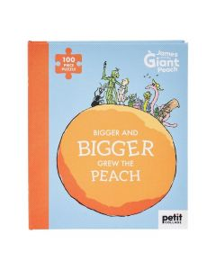 Roald Dahl James And The Giant Peach 100 Piece Puzzle