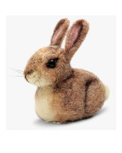 The Crafty Kit Co, Needle Felting Kit - Baby Bunny