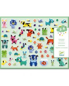 Djeco Puffy Stickers - My Little Friends