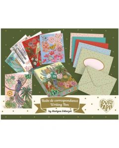 Martyna Writing Box - Djeco Lovely Paper Stationery