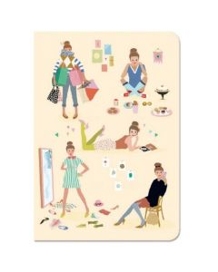 Djeco Lovely Paper - Notebook Stickers Tinou - SAVE 25%