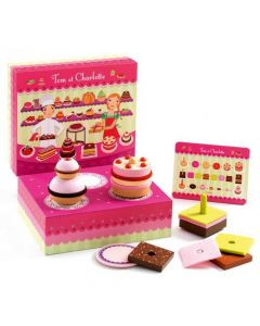 Djeco Pretend Play Food - Tom and Charlotte Patisserie
