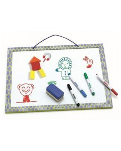 Djeco First Magnetic White Board Tablo