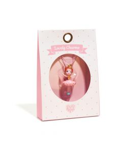 Djeco Ballerina Charm Necklace
