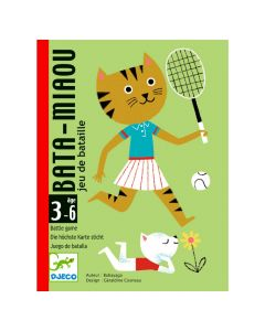 Djeco Card Games - Bata-Miaou