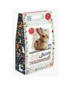 The Crafty Kit Co, Needle Felting Kit - Baby Bunny