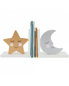 Sweet Dreams Star and Moon Bookends - save 15%