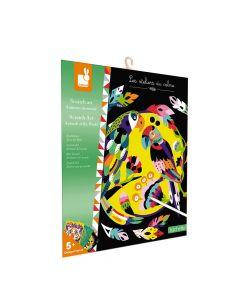 Janod Scratch Art - Animals of the World
