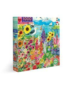 Eeboo Seagull Garden - 1000 Piece Puzzle