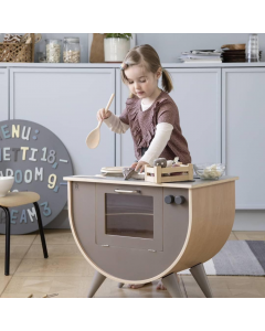 Sebra Play Kitchen - Warm Grey - save 25%