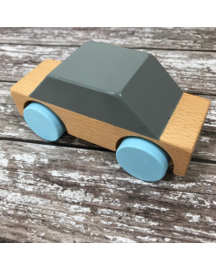 Sebra Wooden Car Classic Grey - save 25%