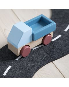 Sebra Wooden Truck Stone Blue - save 25%