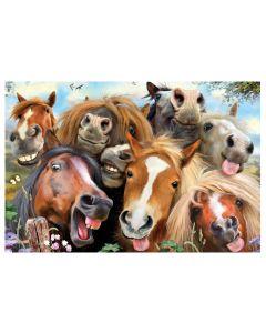 Selfies Super 3D Puzzle - Horses
