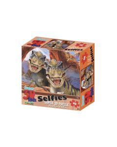 Selfies Super 3D Puzzle - T-Rex