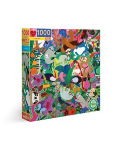 EeBoo Sloths 1000 + Piece Family Puzzle