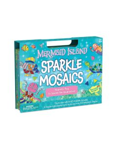 Peaceable Kingdom Mermaid Island Sparkle Mosaics
