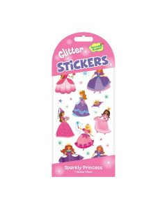 Peaceable Kingdom Sparkly Princess Glitter Stickers