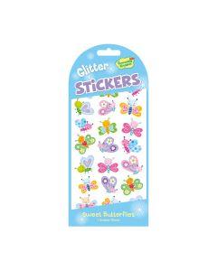 Peaceable Kingdom Sweet Butterflies Glitter Stickers