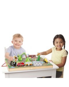 Melissa and Doug Take-Along Railroad