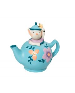 Moulin Roty Tea Pot Money Box  - Il etait une fois  - save 50%
