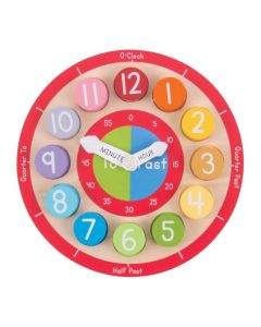 BigJigs Toys Teaching Clock