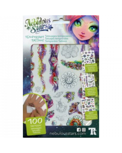 Temporary Tattoos Coralia - Nebulous Stars - save 25%