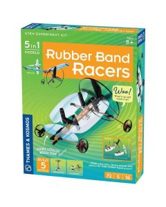 Thames and Kosmos Geek & Co Rubber Band Racers
