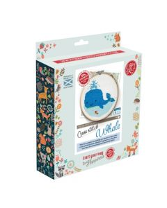 The Crafty Kit Co Cross Stitch Owl
