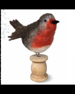 The Crafty Kit Co, Needle Felting Kit - Red Robin