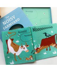 The Noisy Farmyard Rag Book