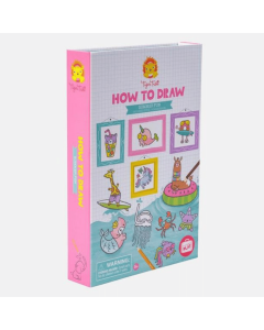 Tiger Tribe How to Draw - Summer Fun