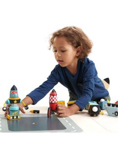 Tender Leaf Toys Wooden Rocket Construction Toy