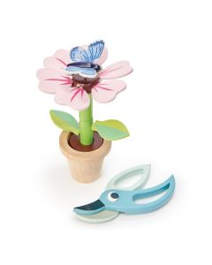 Tender Leaf Toys Wooden Blossom Flower Pot
