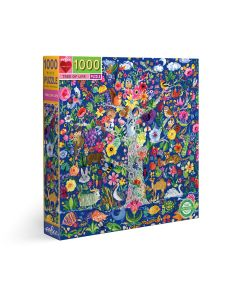 Eeboo Tree of Life 1000 + Piece Family Puzzle