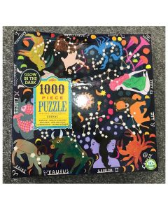 Zodiac 1000 Piece Glow In The Dark Family Puzzle - 50% off due to Damaged Box
