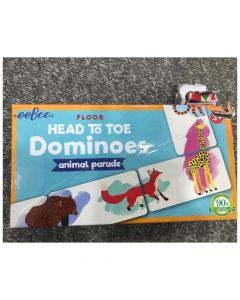 Head To Toe Dominoes - 50% off due to Damaged Box