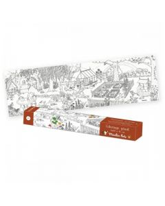 Moulin Roty Giant Colouring - A Walk in the Garden 712607