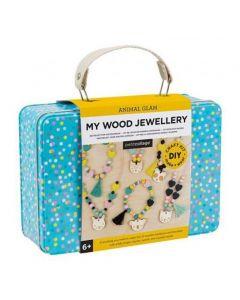 Petit Collage Animal Glam My Wood Jewellery